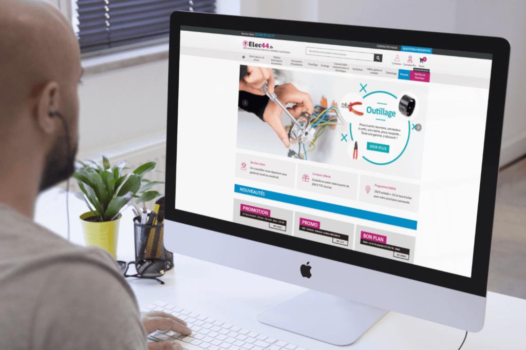 Site e-commerce Elec44
